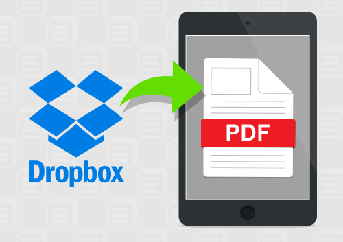 Transfer PDF to iPad without iTune But DropBox