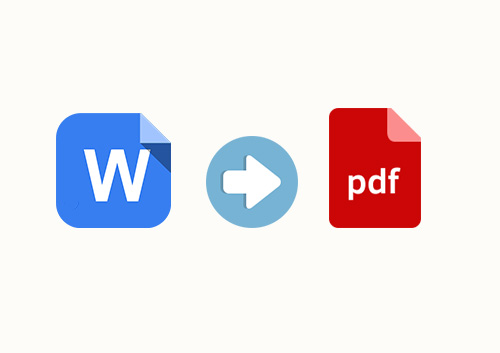 How to Change Word to PDF