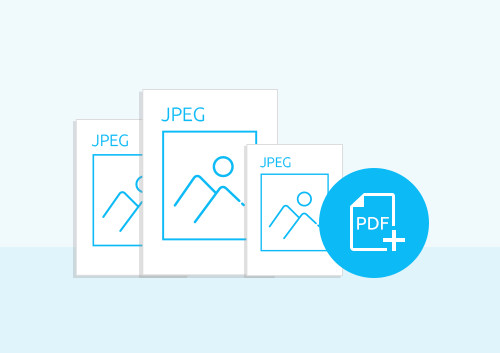 How to Combine JPEGs into PDF