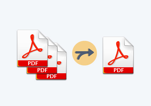 how to create one pdf file from multiple pdf files