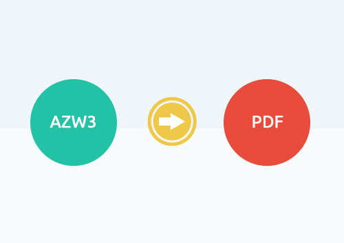 How to Convert AZW3 to PDF