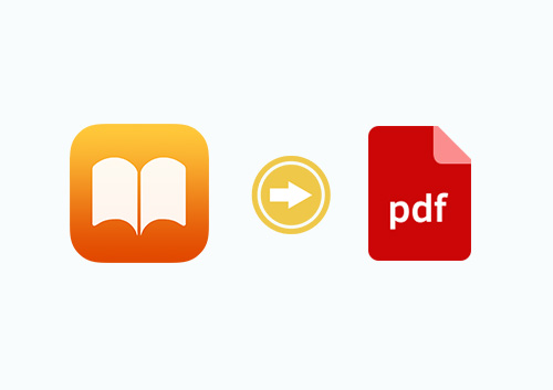 How to Convert iBook to PDF