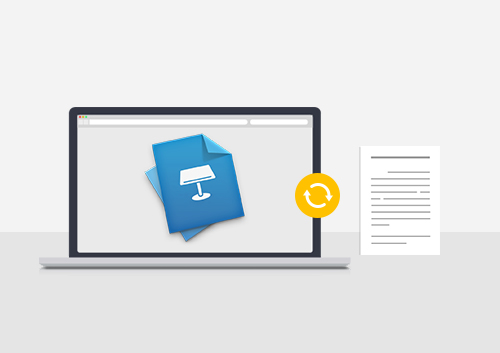 How to Convert Keynote to PDF on Mac (Including Sierra)
