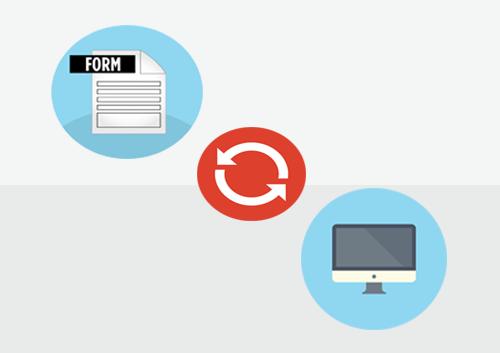 convert pdf form to html