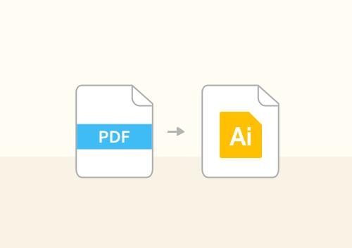 How to Convert PDF to AI