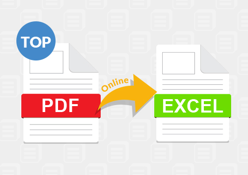 Top 4 PDF to Excel Converters Online and for Desktop