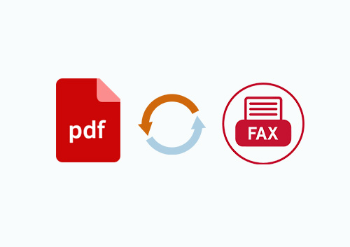 How to Convert PDF to Fax File