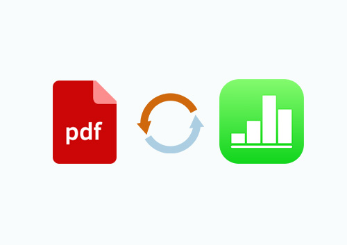 How to Convert PDF to Numbers on Mac