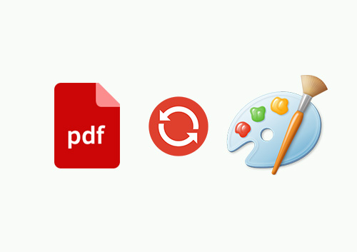 How to Convert PDF to Paint