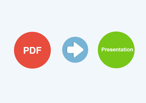 How to Convert PDF to Presentation