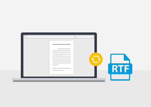 How to Convert PDF to RTF on Mac