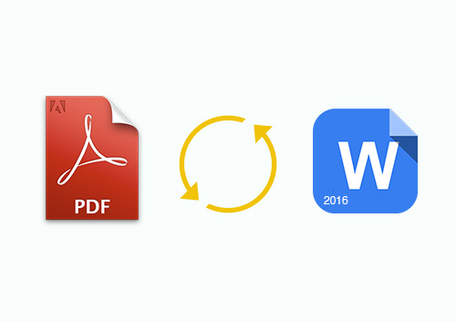 How to Convert PDF to Word 2016