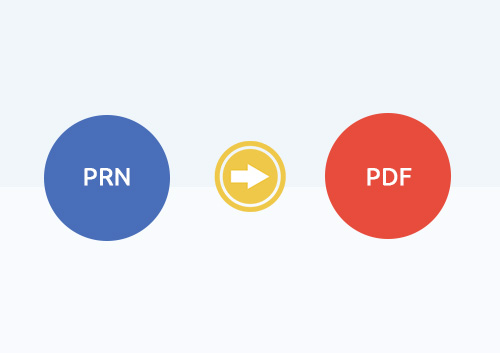 How to Convert PRN to PDF