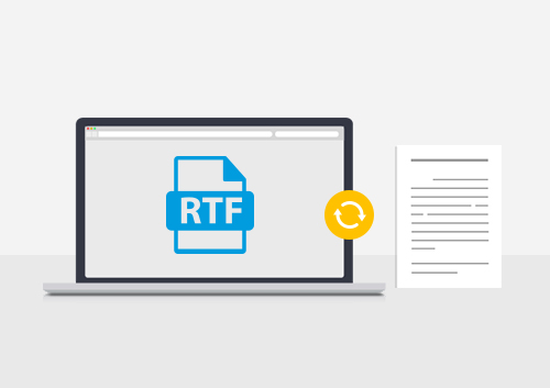 How to Convert RTF to PDF on Mac