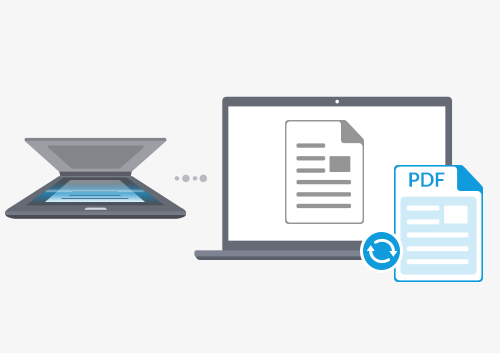 How to Convert Scanned Document to PDF