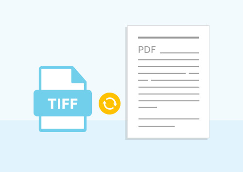 How to Convert TIFF to PDF File