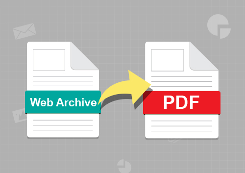 How to Create PDF from Webarchive on Mac