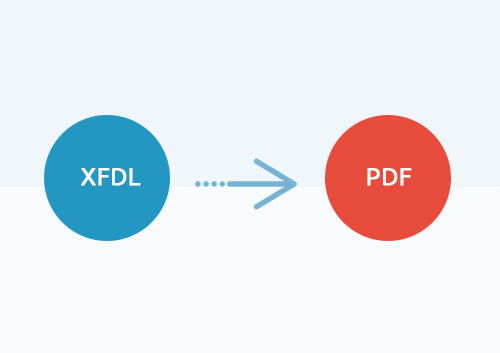 How to Convert XFDL to PDF 2019