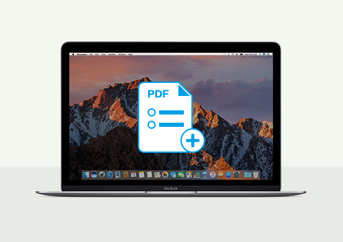 how to create interactive pdf mac os