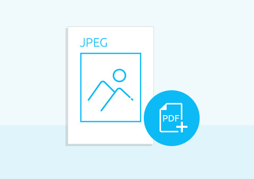 How to Create PDF from JPEG