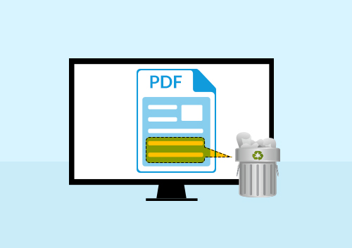 How to Delete Text from PDF