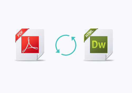 How to Export PDF to HTML