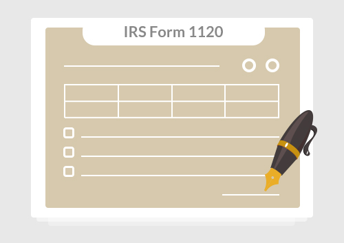 Irs Form 1120 Complete This Form With Pdfelement Wondershare