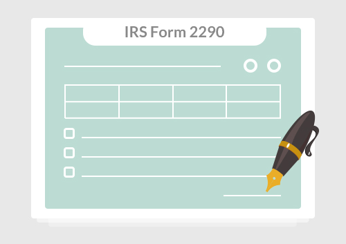 Irs Form 2290 Fill It Without Stress Wondershare Pdfelement