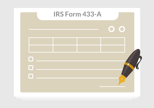 Irs Form 433 A How To Fill It Right Wondershare Pdfelement