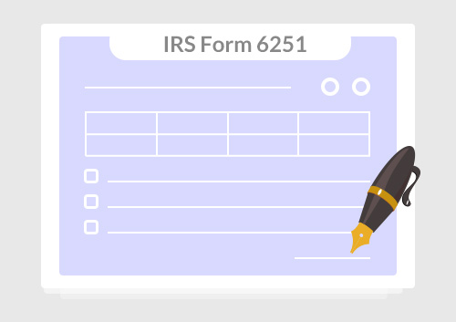 Instructions For How To Fill In Irs Form 6251 Wondershare Pdfelement