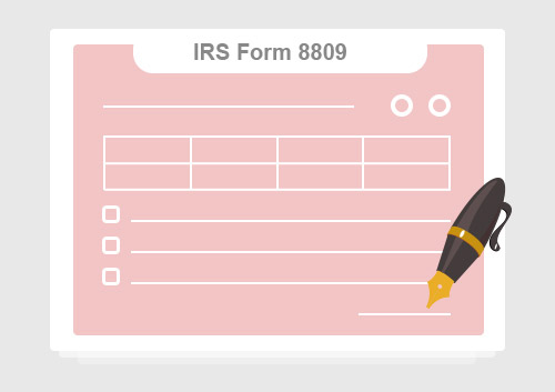IRS Form 8809: Easy to Fill With PDFelement