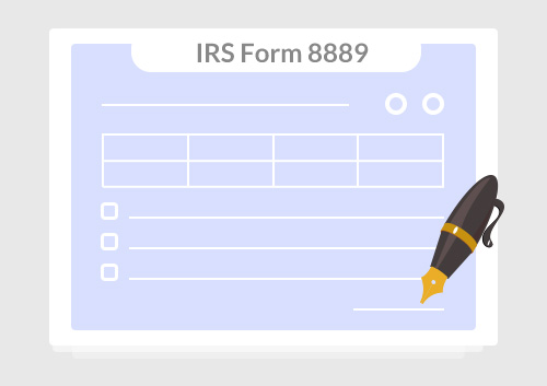 Instructions for How to Fill in IRS Form 8889