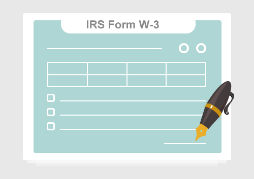 Irs Form W 3 How To Fill It With The Best Form Filler Wondershare