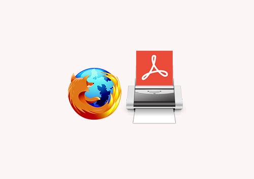 Top 3 Ways to Print PDF Files with Firefox PDF Printer