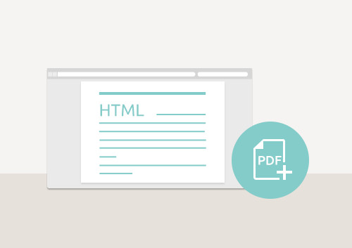 How to Generate PDF from HTML Files