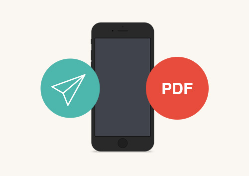 How to Send PDF from iPhone
