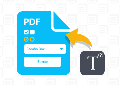 How to Write in PDF Form