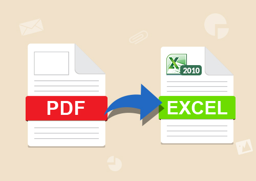 Two Solutions to Import PDF to Excel Worksheet
