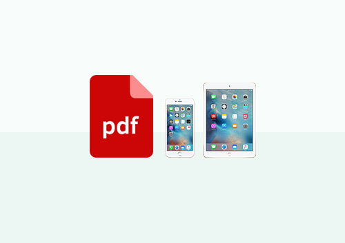 How to Print to PDF on iPad and iPhone