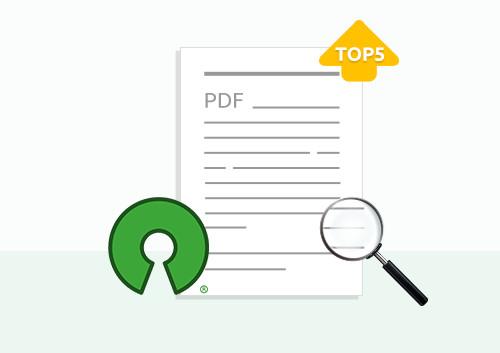 Top 5 Open Source PDF Reader