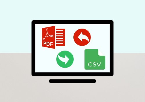 The Top 5 PDF to CSV Converters