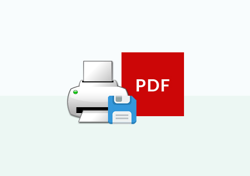 How to Print as PDF Efficiently