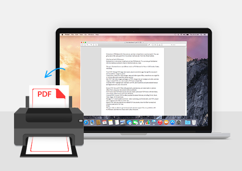 Smart Solution to Print PDF in Preview on Mac