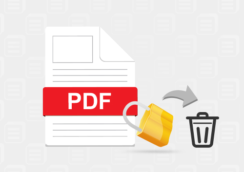 How to Remove PDF Permission