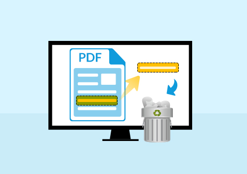 How to Remove Text from PDF