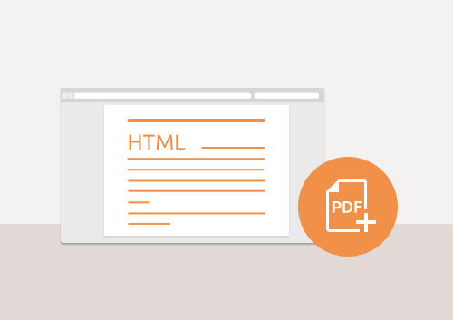 How to Save HTML as PDF Format