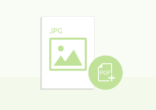 How to Save JPG as PDF