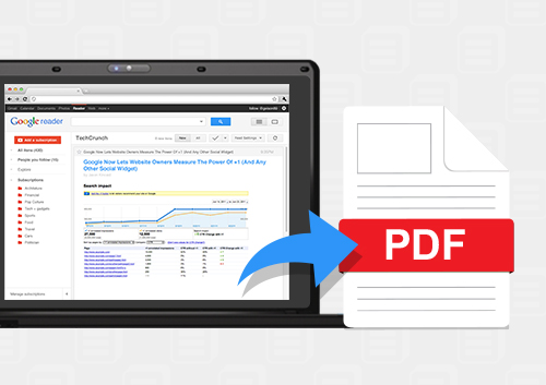 How to Save PDF Files from Google Chrome | Wondershare