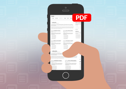 How to Transfer PDF to iPhone 6/iPhone 6S