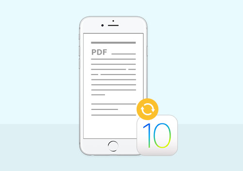 Top 5 PDF Converters for iOS 10/iPhone 7